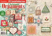 Just Cross Stitch 2015 Special Christmas Issue: Christmas Ornaments