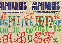 LA Alphabets for Needlepoint or Cross Stitch