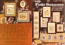 LA Four Seasons Charted Designs for Cross Stitch & Needlepoint