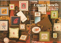 LA Country Stencils for Cross Stitch & Needlepoint