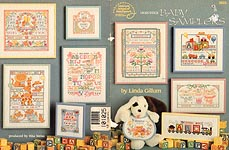 ASN Cross Stitch Baby Samplers