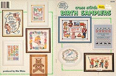 ASN Cross Stitch Birth Samplers