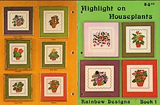 Rainbow Designs Book 1: Highlight on Houseplants