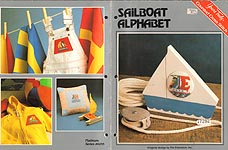 Yours Truly Sailboat Alphabet