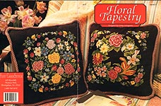 Just Cross Stitch Floral Tapestry