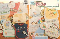 ASN Cross Stitch Bibs for God's Little Children