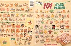 ASN Cross Stitch 101 Itty Bitty Baby Designs