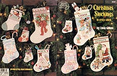 ASN Christmas Stockings to Cross Stitch