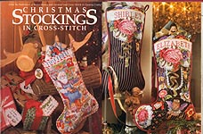 Better Homes & Gardens Christmas Stockings in Cross- Stitch